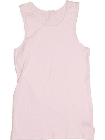 T-shirt sans manches fille MARKS & SPENCER blanc 12 ans été #1508157_1