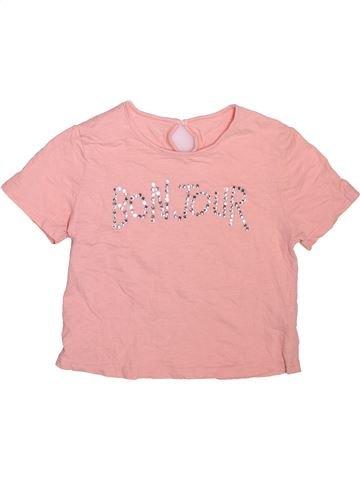 T-shirt manches courtes fille DUNNES STORES rose 11 ans été #1508522_1