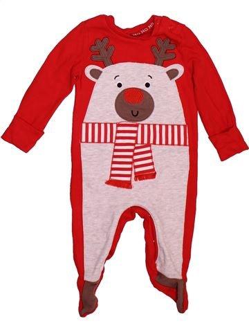 Pijama de 1 pieza niño F&F rojo 6 meses verano #1508539_1
