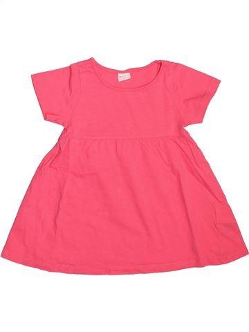 Robe fille H&M rose 12 mois été #1508666_1