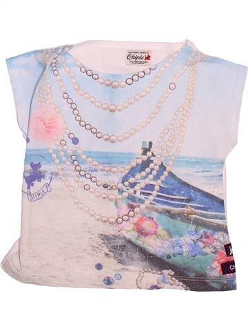 T-shirt manches courtes fille CHIPIE blanc 2 ans été #1508708_1