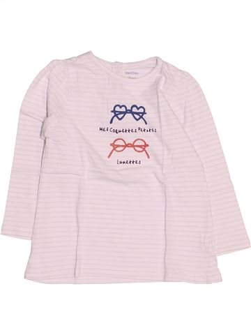 Camiseta de manga larga niña BOUT'CHOU rosa 18 meses invierno #1509232_1