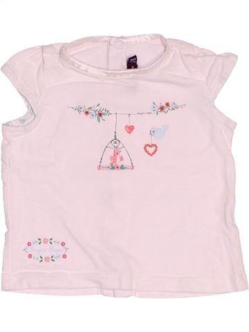 Camiseta de manga corta niña SERGENT MAJOR rosa 6 meses verano #1509459_1