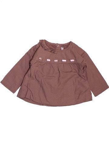 Camisa de manga larga niño TAPE À L'OEIL violeta 6 meses invierno #1509623_1