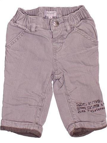 Pantalon garçon ALPHABET violet 3 mois hiver #1509671_1