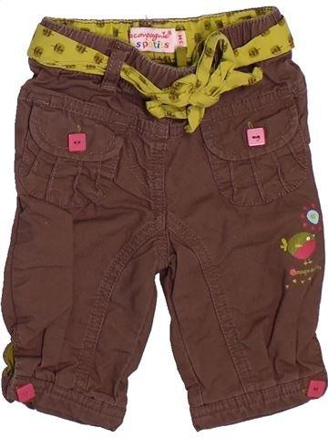 Pantalon fille LA COMPAGNIE DES PETITS violet 3 mois hiver #1509750_1