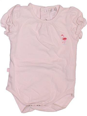 Camiseta de manga corta niña OKAIDI violeta 1 mes verano #1509771_1