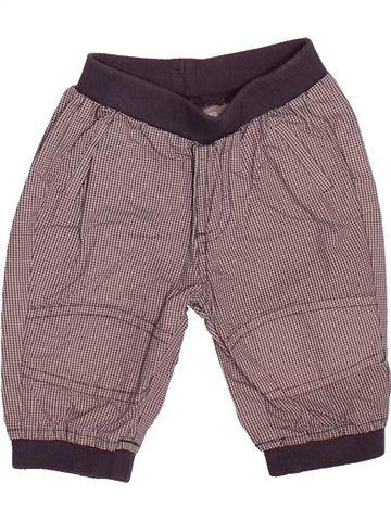 Pantalon garçon VERTBAUDET marron 3 mois été #1510090_1