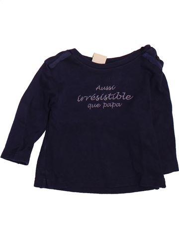 T-shirt manches longues garçon BULLE DE BB noir 6 mois hiver #1510100_1