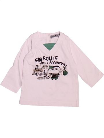 Camiseta de manga larga niño TAPE À L'OEIL blanco 6 meses invierno #1510102_1