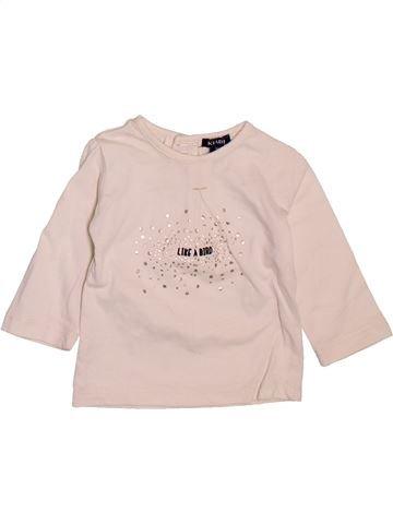 T-shirt manches longues fille KIABI violet 3 mois hiver #1510126_1