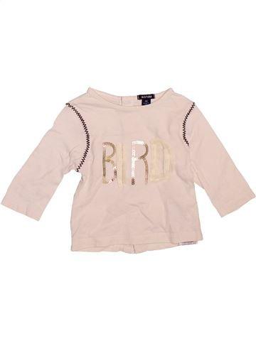 Camiseta de manga larga niña KIABI violeta 3 meses invierno #1510132_1