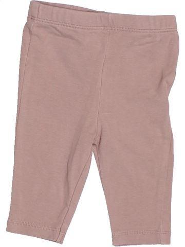Legging niña VERTBAUDET rosa 3 meses verano #1510545_1