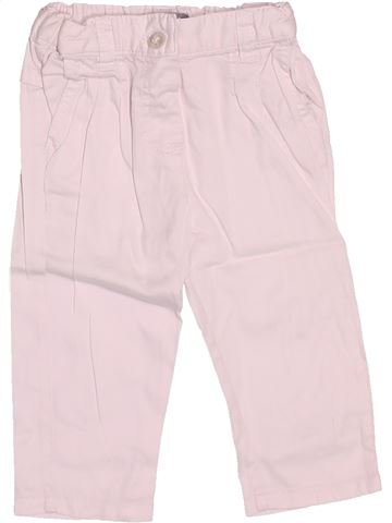 Pantalón niña VERTBAUDET rosa 6 meses verano #1510865_1