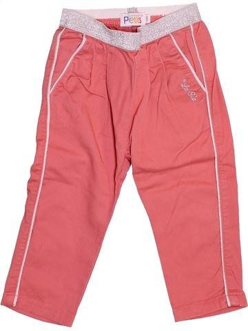 Pantalón niña LA COMPAGNIE DES PETITS rosa 12 meses verano #1510883_1