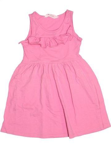 Vestido niña H&M rosa 4 años verano #1511038_1