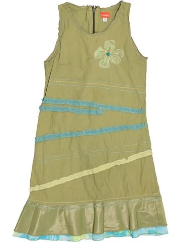Robe fille MARÈSE vert 8 ans été #1511306_1