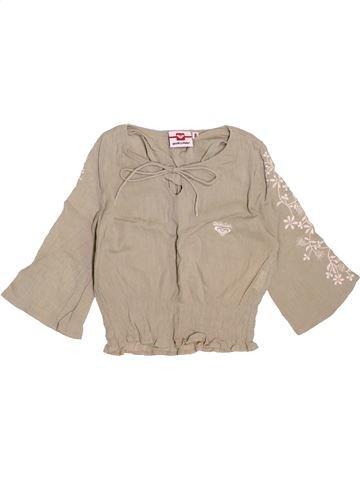 Blusa de manga larga niña QUIKSILVER beige 8 años invierno #1511307_1