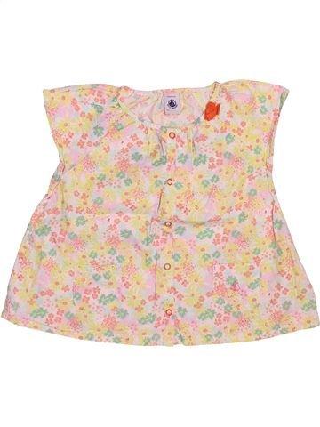 Blusa de manga corta niña PETIT BATEAU beige 3 años verano #1511821_1