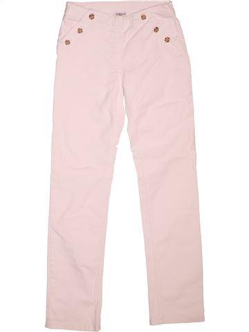 Pantalón niña CYRILLUS rosa 12 años verano #1511982_1