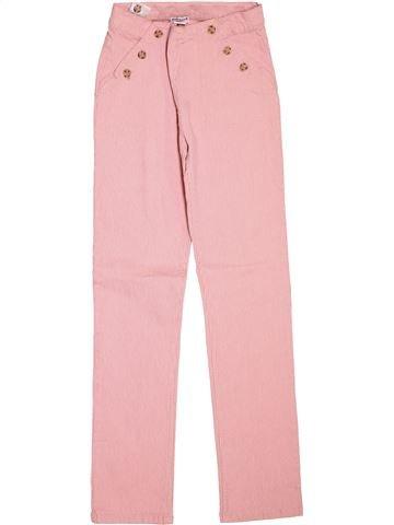 Pantalon fille CYRILLUS rose 12 ans été #1511986_1