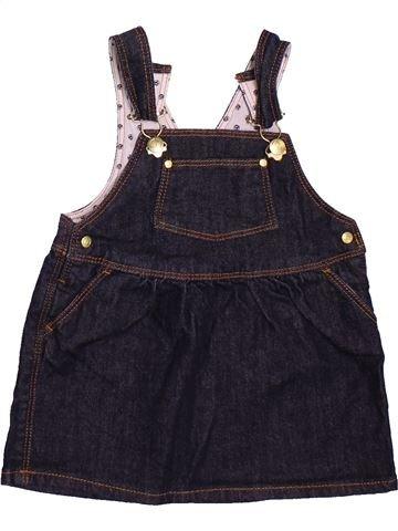 Vestido niña PETIT BATEAU azul oscuro 12 meses verano #1512285_1