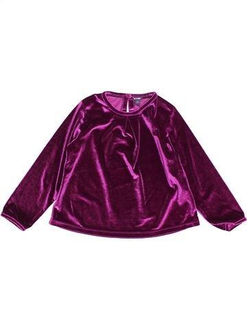 Pull fille KIABI violet 5 ans hiver #1512294_1
