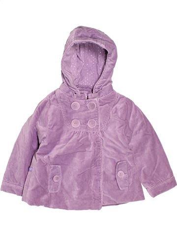 Manteau fille OKAIDI violet 2 ans hiver #1513050_1