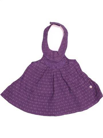 Blouse manches courtes fille KIABI violet 18 mois été #1513569_1