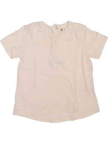 Camiseta de manga corta niña LA REDOUTE CRÉATION violeta 18 meses verano #1514675_1