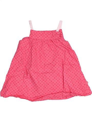 Robe fille OKAIDI rose 9 mois été #1514806_1