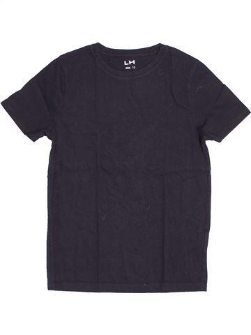 T-shirt manches courtes unisexe LH BY LA HALLE bleu 12 ans été #1515085_1