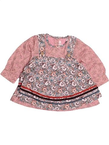 Blouse manches longues fille KENZO rose 12 mois hiver #1515849_1