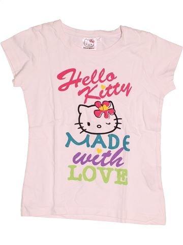 Camiseta de manga corta niña HELLO KITTY blanco 10 años verano #1516585_1