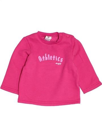 Sweat fille DOMYOS rose 12 mois hiver #1518130_1