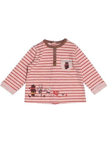 T-shirt manches longues garçon SERGENT MAJOR rose 6 mois hiver #1518997_1