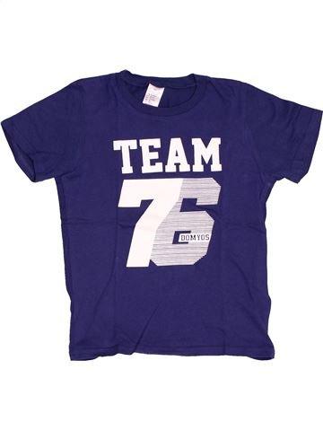 T-shirt manches courtes garçon DOMYOS bleu 6 ans été #1519469_1