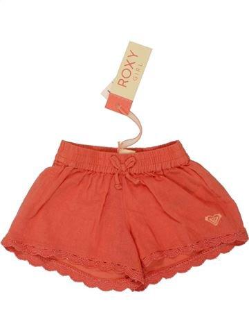 Short - Bermuda fille ROXY rouge 3 ans été #1519923_1