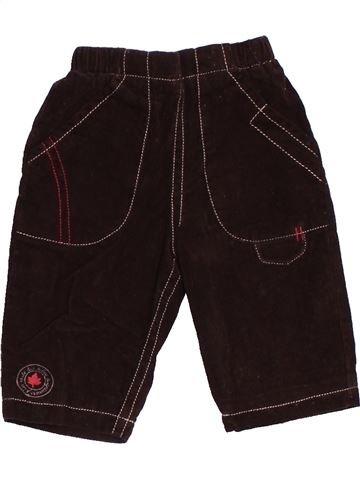 Pantalon garçon LES BEBES SONT COMME ÇA marron 1 mois hiver #1520001_1