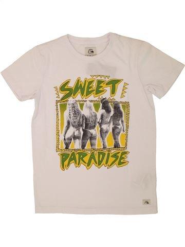 Camiseta de manga corta niño QUIKSILVER blanco 10 años verano #1520963_1