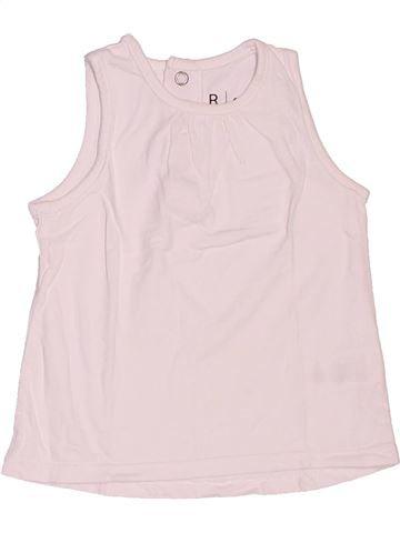 Camiseta sin mangas niña LA REDOUTE CRÉATION blanco 9 meses verano #1521181_1