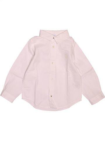 Camisa de manga larga niño JACADI rosa 18 meses invierno #1521615_1
