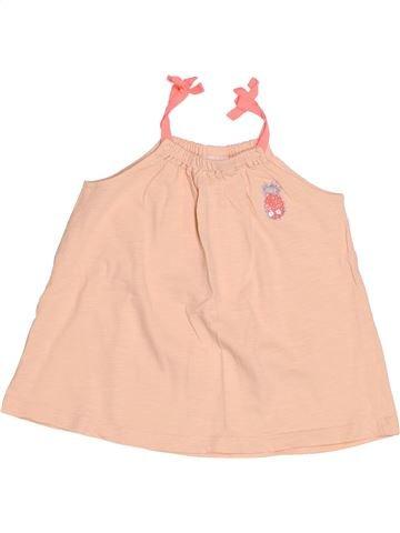 T-shirt sans manches fille TAPE À L'OEIL rose 3 ans été #1521814_1