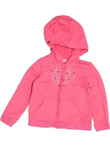 Sweat fille DPAM rose 3 ans hiver #1521833_1