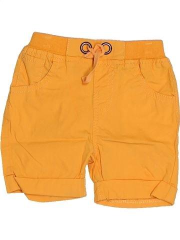 Short - Bermuda garçon SUCRE D'ORGE orange 3 mois été #1521874_1