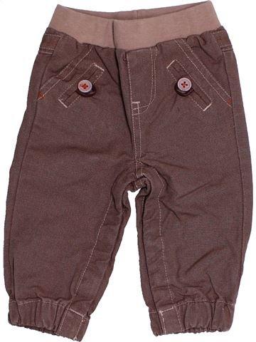 Pantalon garçon TAPE À L'OEIL marron 6 mois hiver #1522005_1