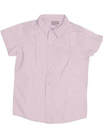 Chemise manches courtes garçon VERTBAUDET blanc 3 ans été #1522112_1