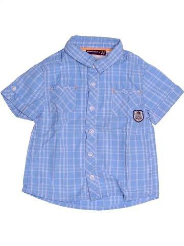 Chemise manches courtes garçon SERGENT MAJOR bleu 18 mois été #1522608_1