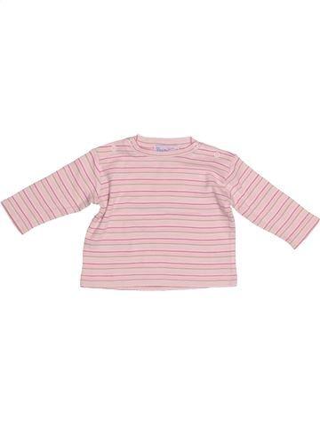 T-shirt manches longues fille PREMAMAN violet 3 mois hiver #1522804_1