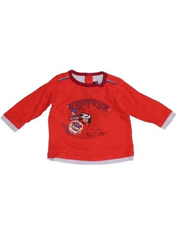 T-shirt manches longues garçon SERGENT MAJOR rouge 9 mois hiver #1523727_1